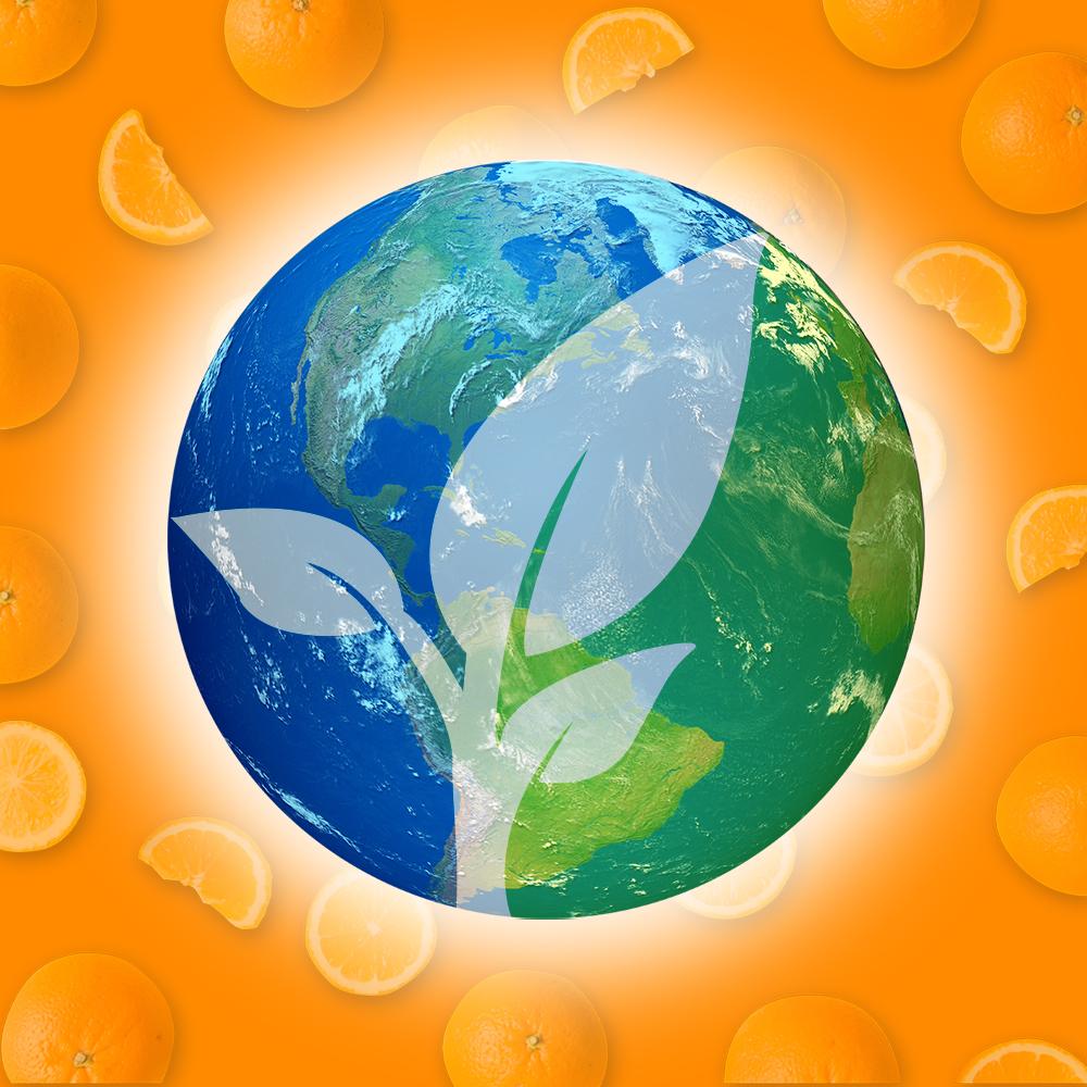 Orange A/C environmental image