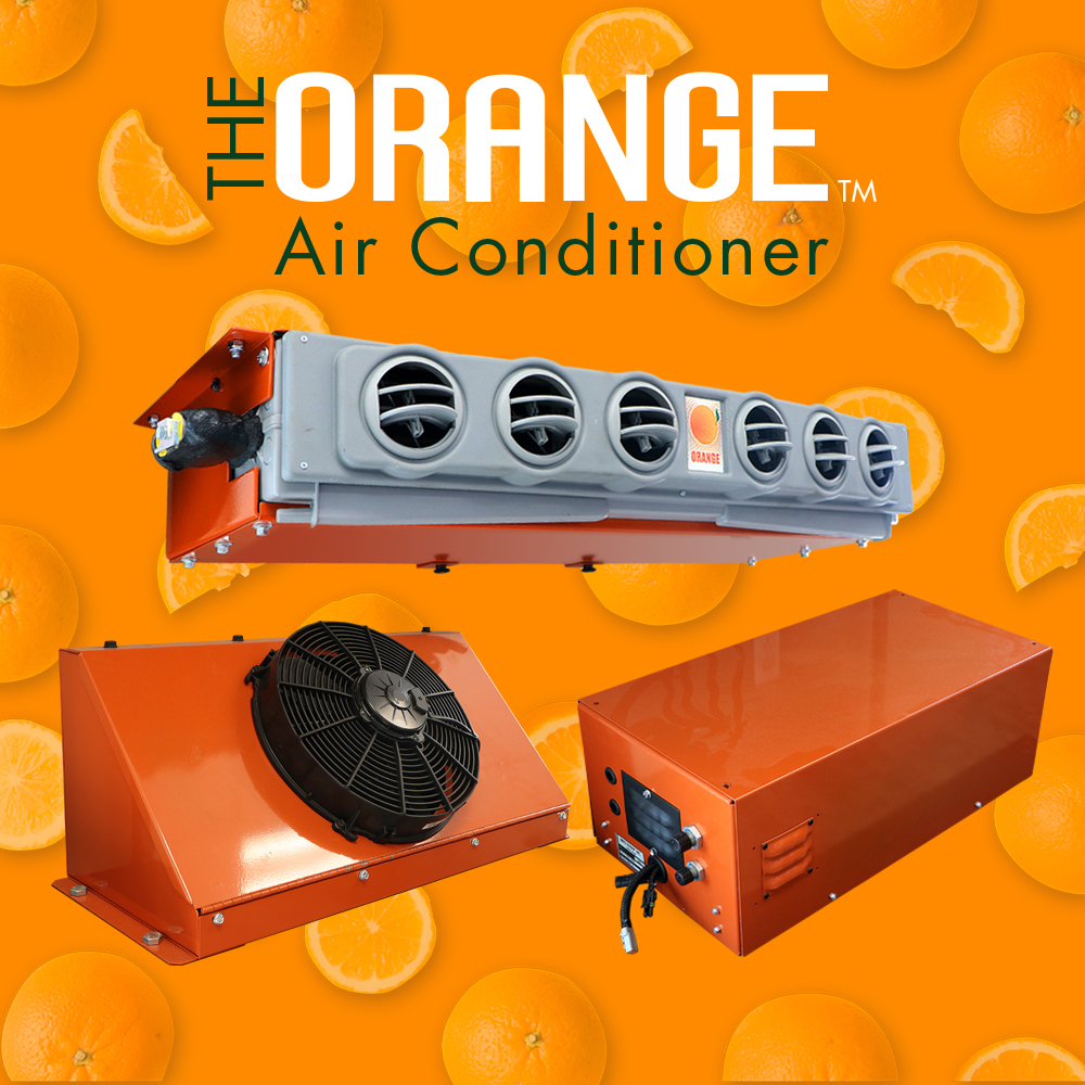 The Orange Air Conditioner