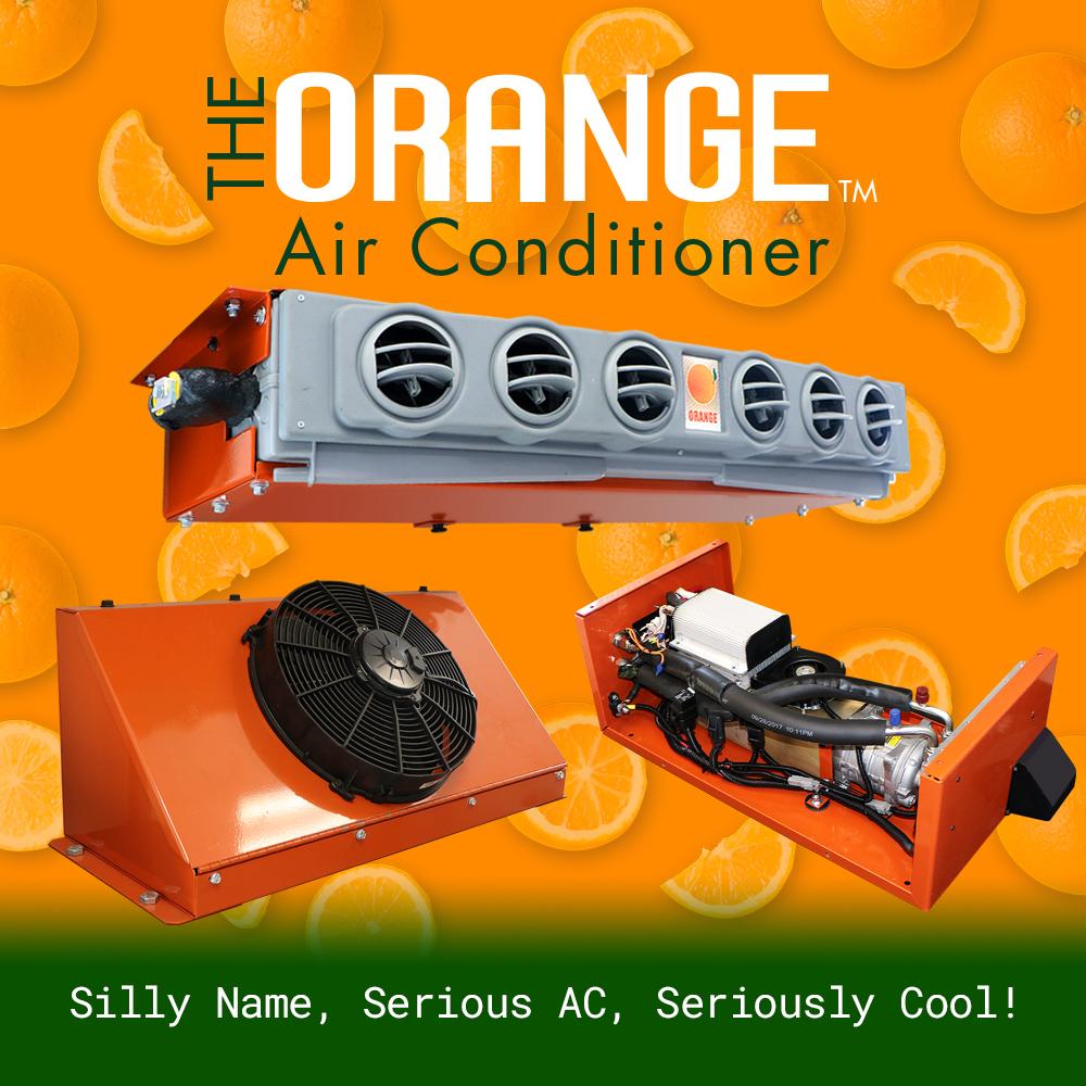 The Orange Air Conditioner product